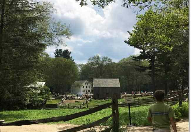 Reliving Colonial Times at Old Sturbridge Village Museum, MA