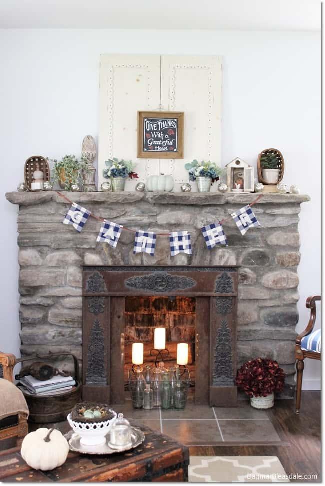 field stone fireplace, DagmarBleasdale.com