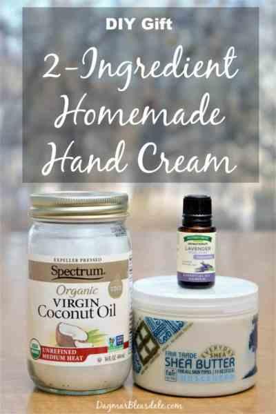 Homemade Hand Cream Recipe, DagmarBleasdale.com