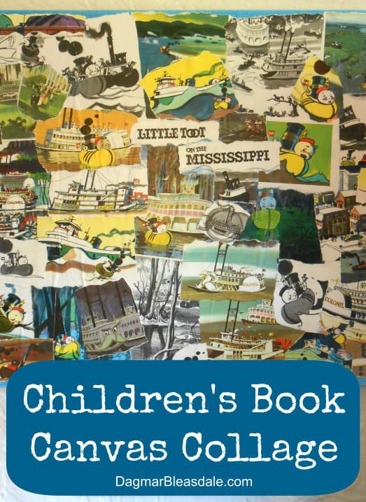 Children's Book Collage, DagmarBleasdale.com