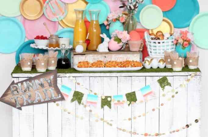 Easter Bunny Decor Ideas – Moonlight & Mason Jars
