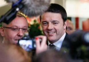 atteo Renzi a Bruxellesb a da c b f af b