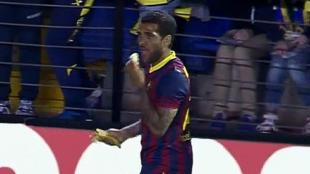 DANI ALVES BANANA