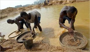 AFRICA LAVORO IN MINIERA