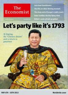 xi jinping sulla copertina dell economist