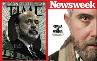 Bernanke Krugman