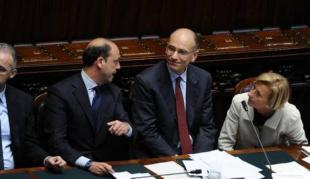 ENRICO LETTA ALLA CAMERA TRA ALFANO E BONINO