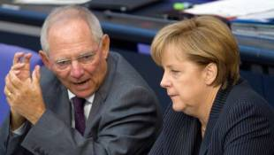schauble MERKEL