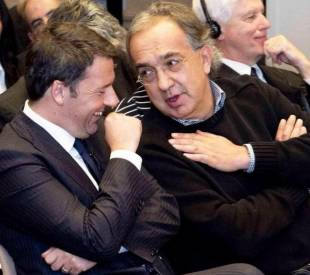 renzi e marchionne al council on foreign relations
