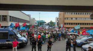 protesta alitalia 2