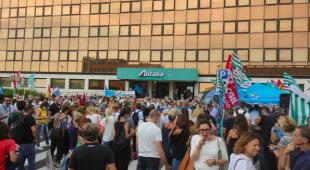 protesta alitalia 4