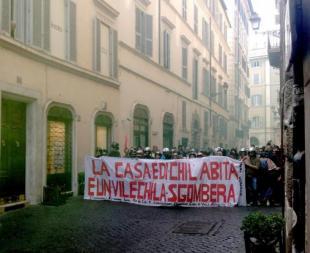 CORTEI PER LA CASA NEL CENTRO DI ROMA