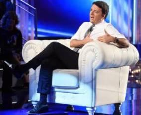 Matteo Renzi ospite di Barbara D'Urso