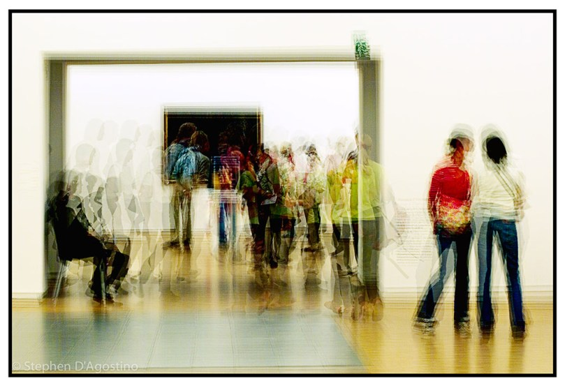 Gallery of light - Paris 2005. An example of photo impressionism.