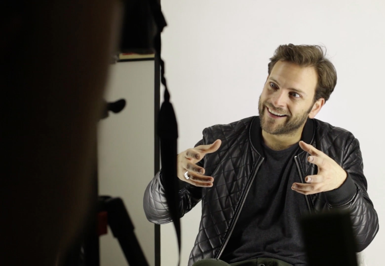 alessandro borghi backstage video