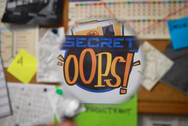 Backstage MixedBag-Secret Oops Video Apple arcade