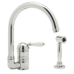 Rohl Kitchen Faucet Best Countertops For Faucets Dahl Distinctive Design 980 00 A3606lpwsapc 2 Country Single Hole