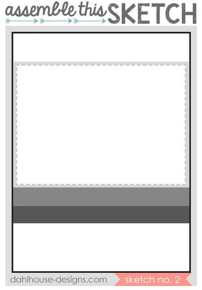 dahlhouse designs | assemble this sketch no. 2