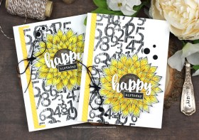 Quick and Easy Sunflower Birthday Cards