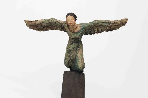 Frihet, keramikk, skulptur, Ingun Dahlin