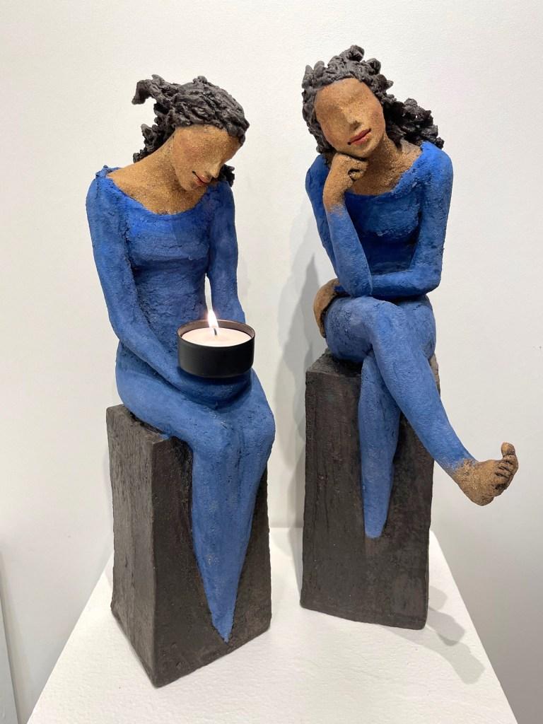 grubler, lysbærer, Ingun Dahlin, keramikk