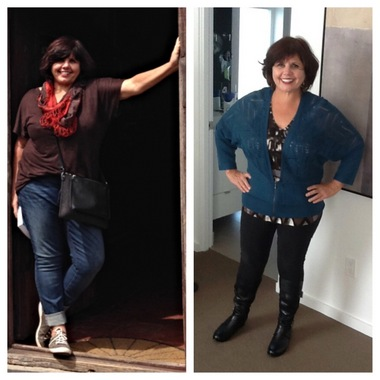 Teresa, a world traveler, has learned the right color will make you feel great. Sara Dahlquist