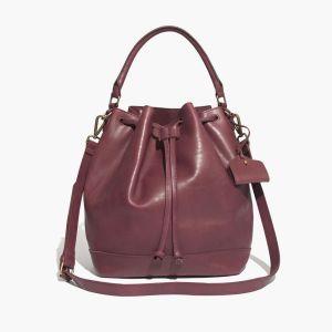 Madewell oxblood handbag
