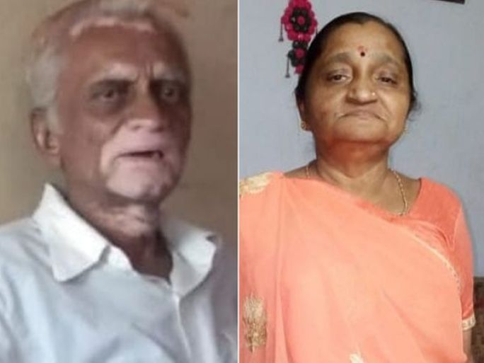 કોરોના પતિ-પત્નીને ભરખી ગયો. - Divya Bhaskar