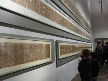 Il museo egizio a torino con i bambini dai che partiamo for Piano terra di 380 piedi quadrati