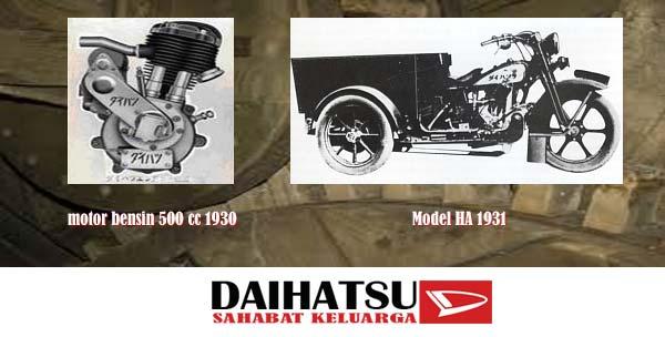 mesin motor pertama daihatsu