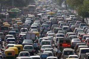 kemacetan kendaraan