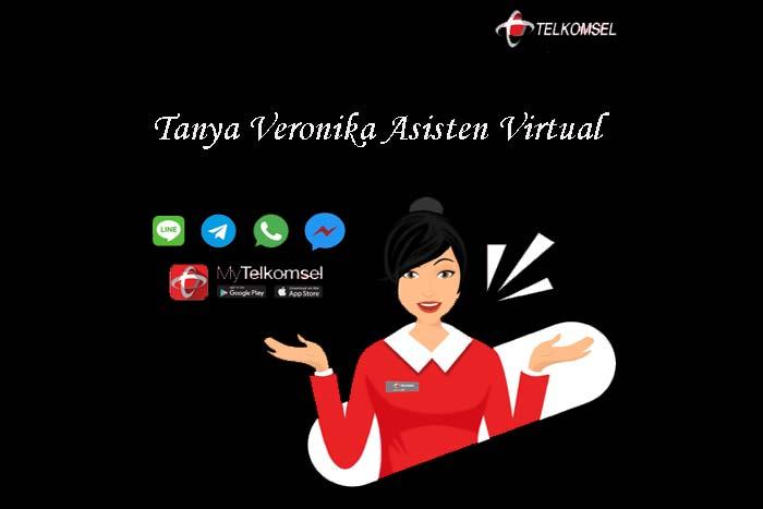 Layanan Veronika Asisten Virtual Telkomsel