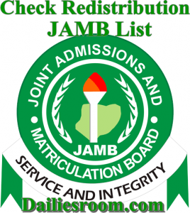 UTME: How to Check Redistribution JAMB List online