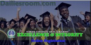 2015/2016 FUNAI Post UTME Online Registration