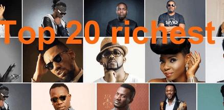 2019-2020 Nigerian Top 20 Richest Musicians List and Their Net Worth
