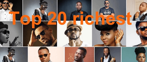 2019-2020 Nigerian Top 20 Richest Musicians List and Their Net Worth