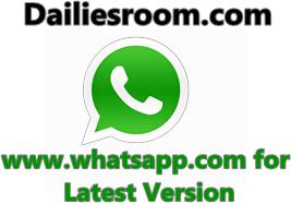 www.whatsapp.com Update for Latest Version