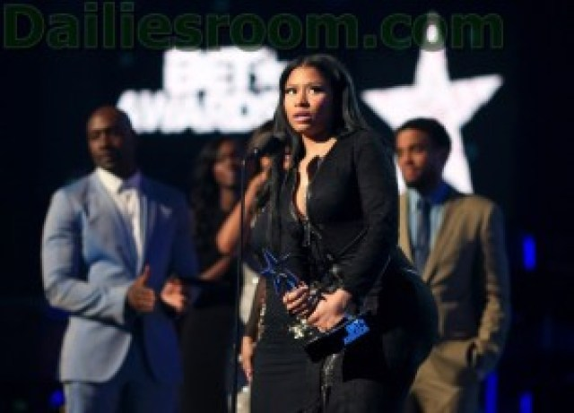 Nicki Minaj 2015 BET Awards Winners