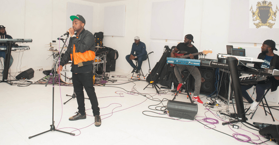 Davido concert performance in London
