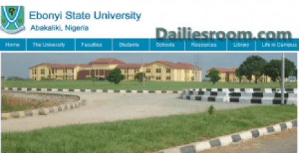 EBSU Admission List 2015/2016 (Merit) Is Out – Check