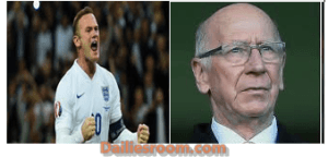 Wayne Rooney international goal record matches Lionel Messi, beats Cristiano Ronaldo and Sir Bobby Charlton. The England boss Roy Hodgson and Alan Shearer