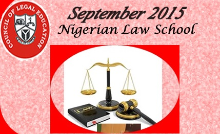 Nigerian Law School Result for September 2015 out - Check now