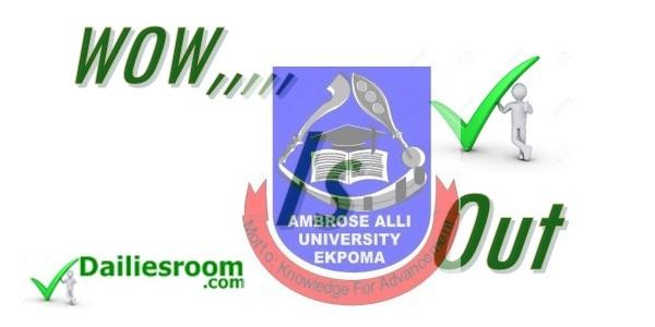 2015 AAU EKPOMA admission list Releases - DailiesRoom