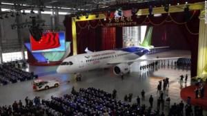 China unveils First Large Passenger Aircraft