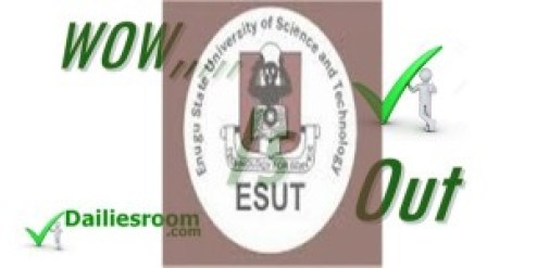 Check 2015 ESUT 2ND Batch Admission List