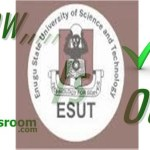 Check 2015 ESUT 2ND Batch Admission List