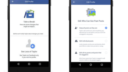 Facebook break-up tools Tech Newly Announced