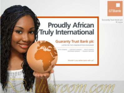 GTBank Mobile Internet Banking App For Blaberry - How to Apply for GTBank Internet Banking service