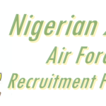 Nigerian 2016 Airforce Recruitment Form Portal