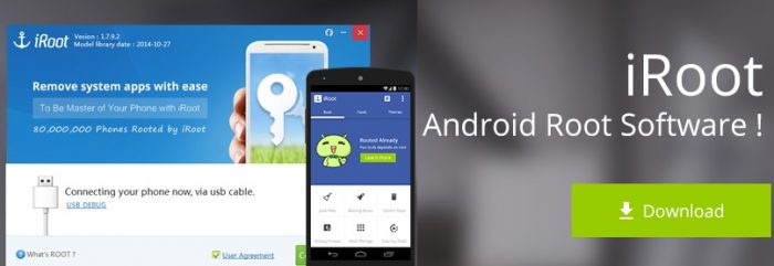 How to download iRoot for android and pc